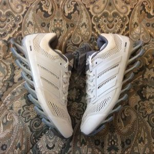New Adidas Springblade Drive White Gray Wmns 8.5